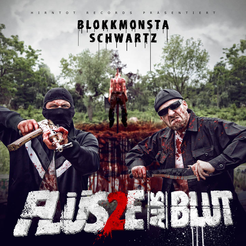 """Cover von """"Flüsse aus Blut 2"""" mit Blokkmonsta"""